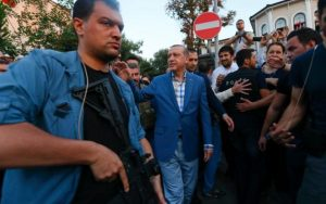 err to gain power, coup attempts against Erdogan stops cold Turkey,