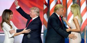 of billionaire presidential hopefuls and melania wives
