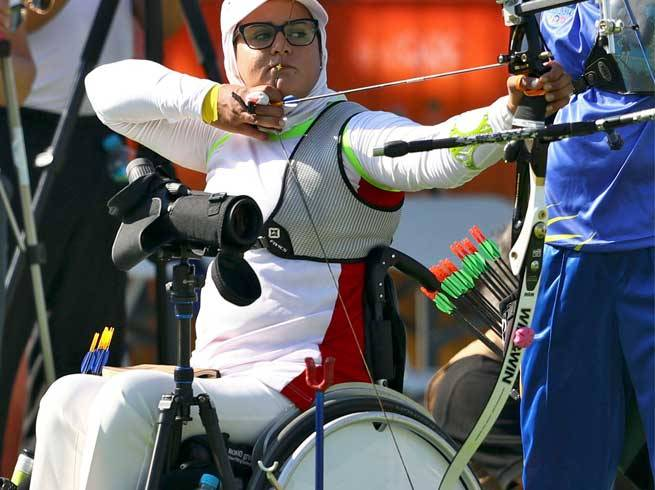 Sparking bright and beautiful - Zahra adds aura to Olympics