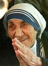 Mother, There is a Saint Teresa
