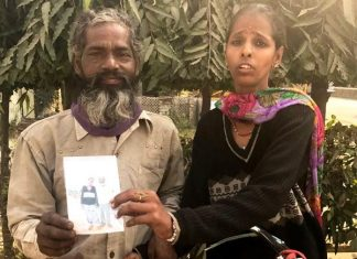 Tapeshwar tracks missing wife Babita after 9 months meerut haldwani