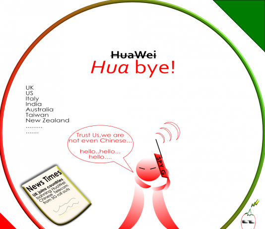 huawei,hua,bye,telecom,china,boycott,vendor,